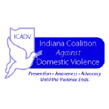 Indiana Coalition Against Domestic Violence Logo
